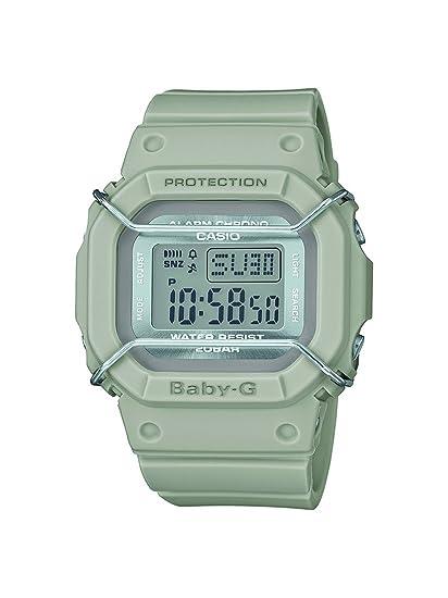 Casio Reloj Digital para Mujer de Cuarzo con Correa en Resina BGD-501UM-8ER