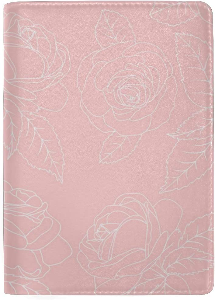 Rose Is Really Unknown Multi-purpose Travel Passport Set With Storage Bag Leather Passport Holder Passport Holder With Passport Holder Travel Wallet