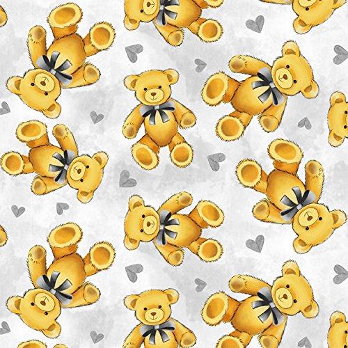 Teddy Bear Fleece Throw Blanket with Finished (Care Bears Fleece)