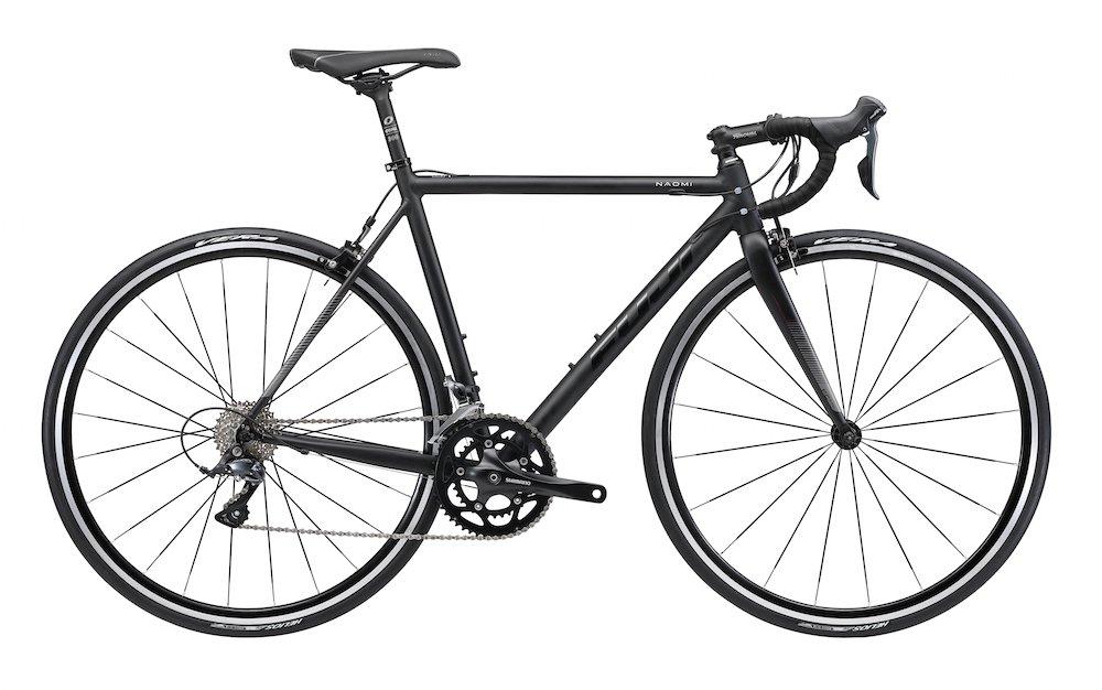 FUJI(フジ) NAOMI 56cm 2x9speed MATTE BLACK ロードバイク 2018年モデル 18NAOMBK MATTE BLACK 56cm B075SYXJZM