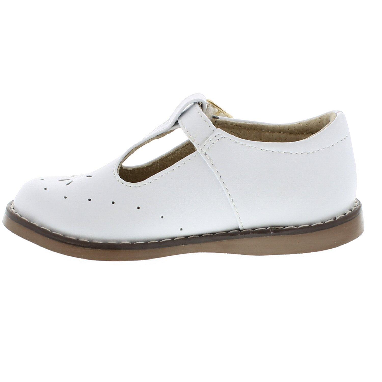 FOOTMATES Sherry (7.5 Toddler M/W, White) by FOOTMATES (Image #6)