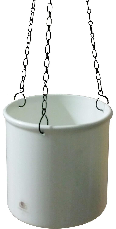 Set5 Kunststoff Ampel Corona silber+Bewässerungs-Set für Hydropflanzen