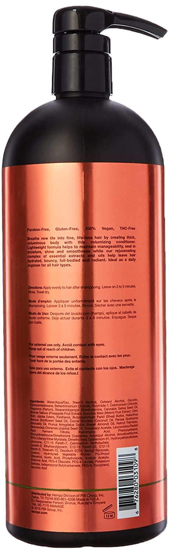Amazon.com: Hempz Sweet Pineapple and Honey Melon Herbal Volumizing Conditioner, 33 Ounce: Beauty