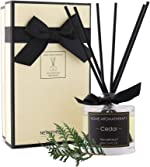 NEVAEHEART Reed Diffuser   3.4oz(100ml) Cedar Scented Reed Diffuser Set  