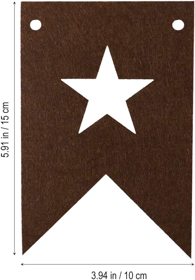 Azul Amosfun Bandera Colgante de Cumplea/ños Banderas Del Empavesado de Estrellas para La Habitaci/ón Del Beb/é Guarder/ía Fiesta Guirnalda Decoraciones 3 Metros