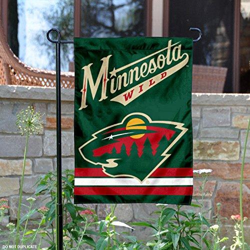WinCraft Minnesota Wild Double Sided Garden (Minnesota Wild Flag)