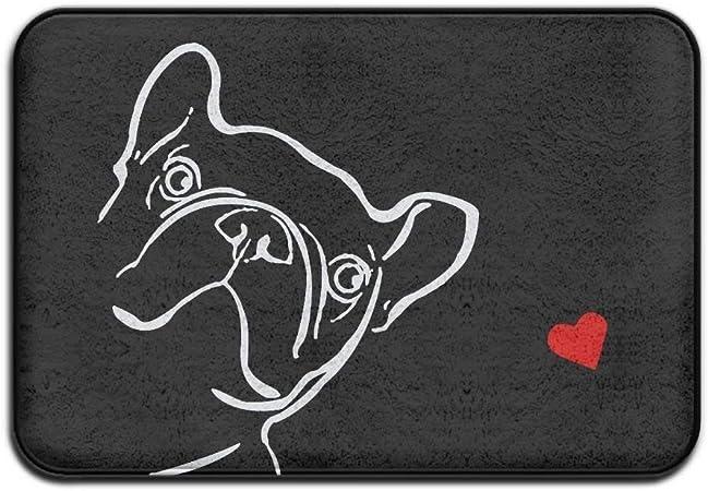 Kling Bulldog Francese Antiscivolo Tappetino Per Porta Esterno Interno Salute Benessere Servizi Igienici Zerbino Bagno 24x 16 40 X 60 Cm Amazon It Casa E Cucina