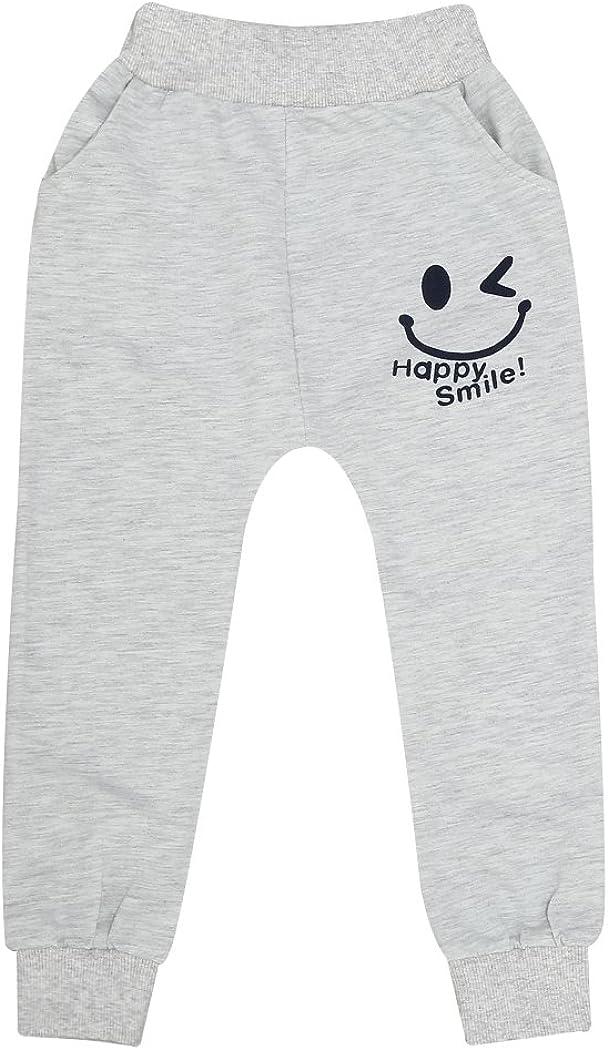 Allence Kind Baumwolle Babyhose Freizeithose Jungen M/ädchen Elastischer Bund Haremshose Trainingshose Jogginghose Sporthose 2-7 Jahre