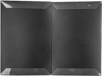 Estuche de partituras de ABS con estuche de partituras de piano negro: Amazon.es: Instrumentos musicales