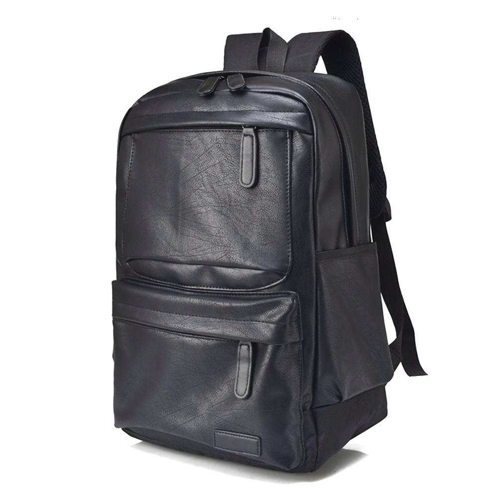 149c0ad420275e Naerde 14,1 pollici PU pelle Laptop Computer zaino scuola liceo zaino  Casual tracolle borsa uomo: Amazon.it: Valigeria