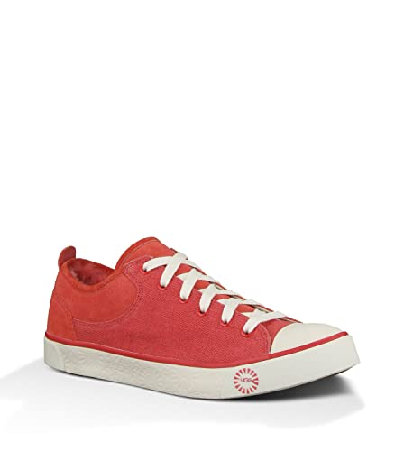 UGG Womens Evera Canvas Lipstick Low Top Trainers 3.5
