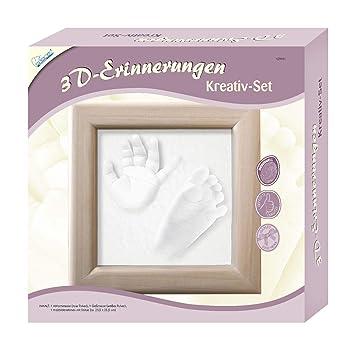 Gipsabdruck Set Baby Händeabdruck Set Fußabdruck Babyabdruck Gips Komplett Set