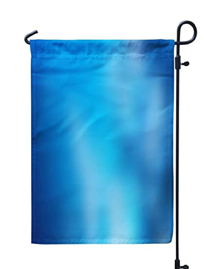 Amazon Com Kutita Aqua Garden Flag 12x18 Inch Abstract