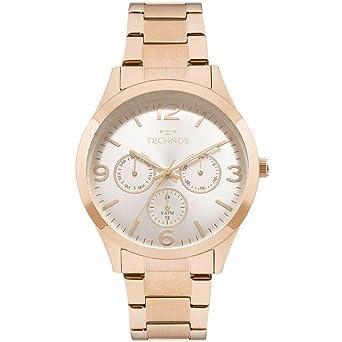 db265010157 Relógio Feminino Technos Analógico Elegance - Rose Gold 6p29ajm 4k ...