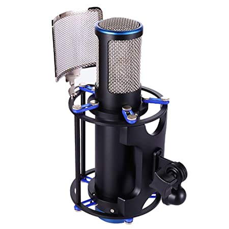 LIU UK Microphone MicróFono De Estudio De Condensador De ...