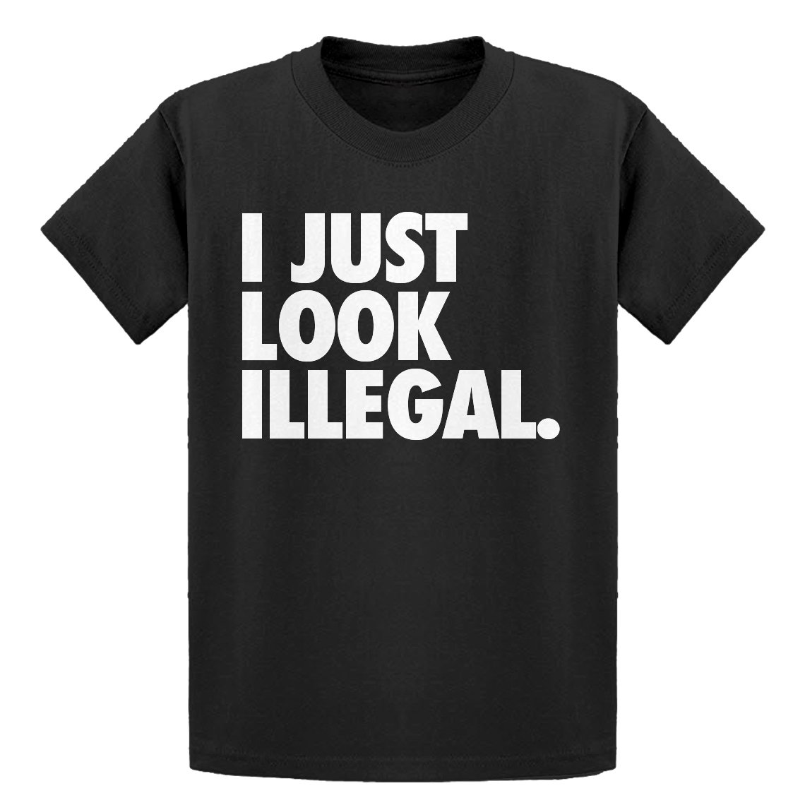 Indica Plateau Youth Just Look Illegal Kids T-Shirt