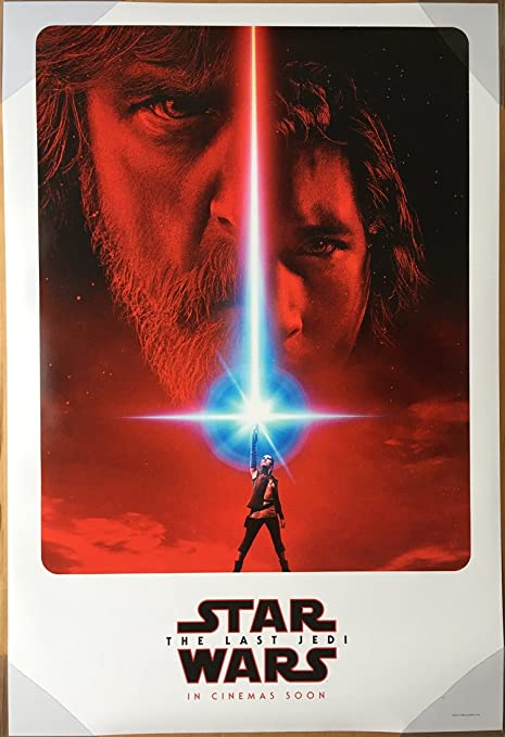 THE LAST JEDI STAR WARS 2017 FILM LANDSCAPE ART MOVIE PRINT PREMIUM POSTER