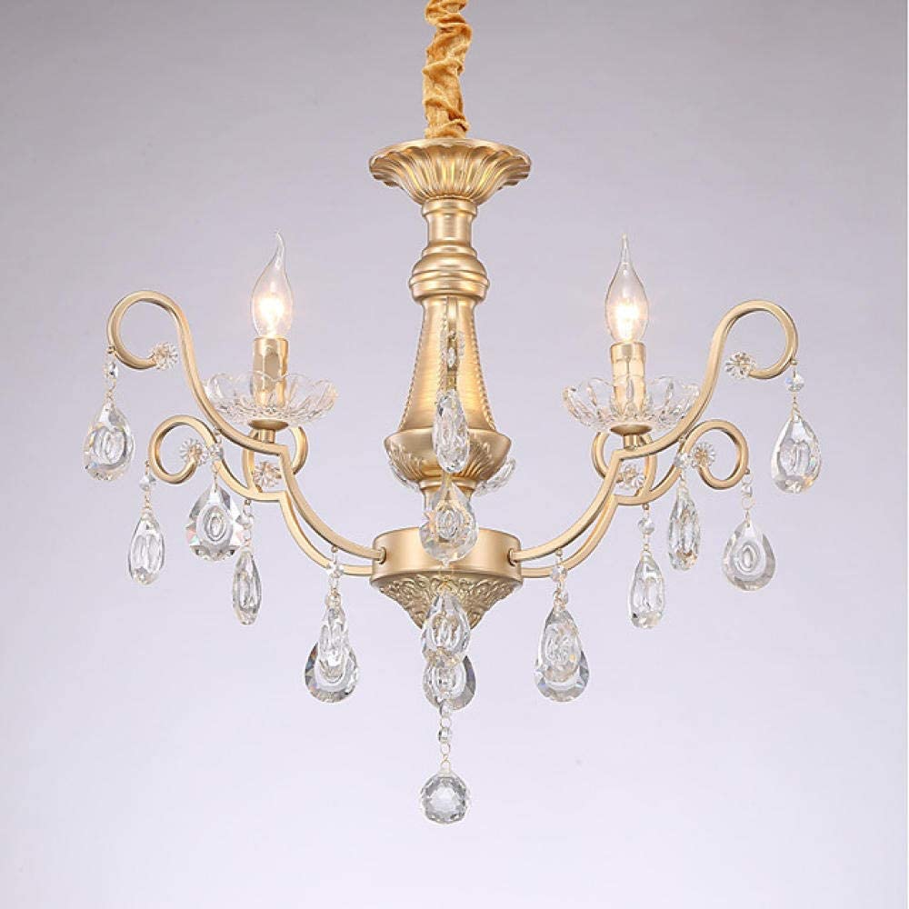 3 Light Candle Style Classic Traditional Chandelier