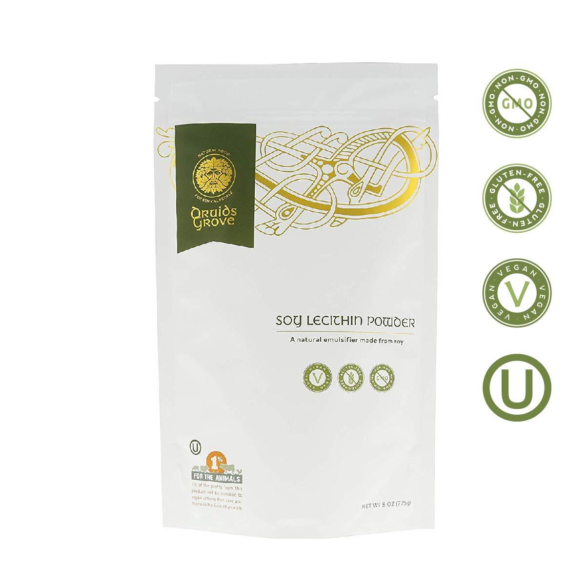 Druids Grove Refined Sodium Alginate ☮ Vegan ⊘ Non-GMO ❤ Gluten-Free ✡ OU Kosher Certified - 8 oz.