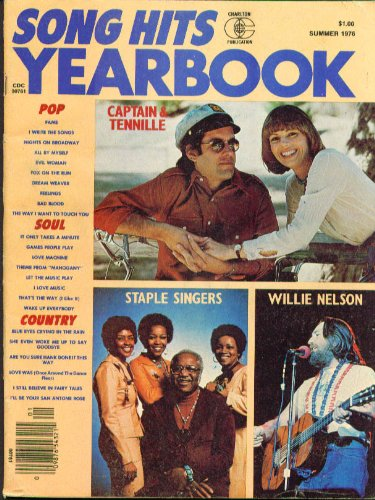 song-hits-yearbook-1976-captain-tennille-willie-nelson-wings-staple-singers-