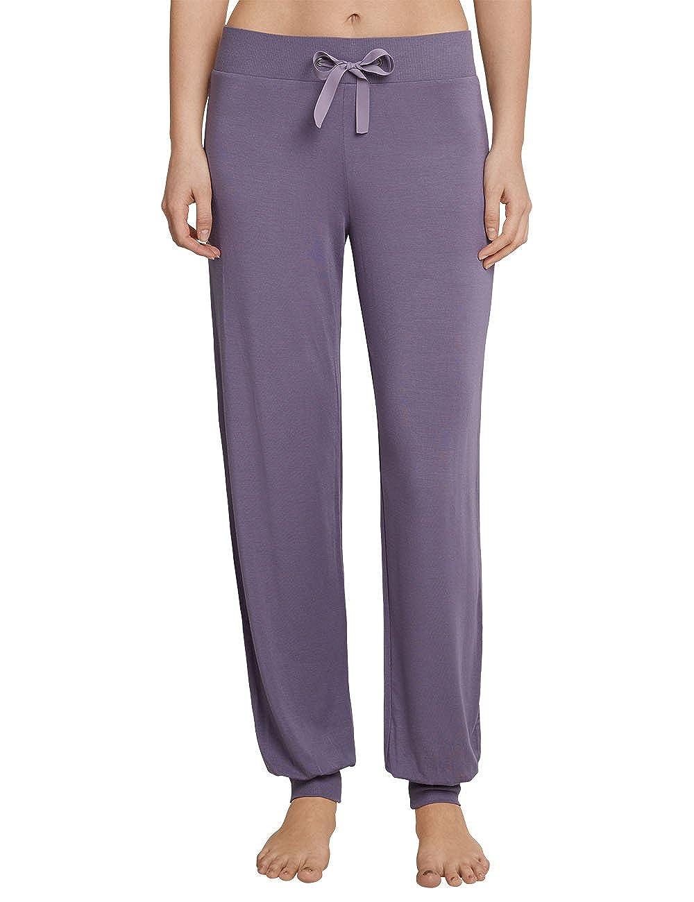 Schiesser Mix & Relax Jerseyhose Lang, Pantalones de Pijama para Mujer