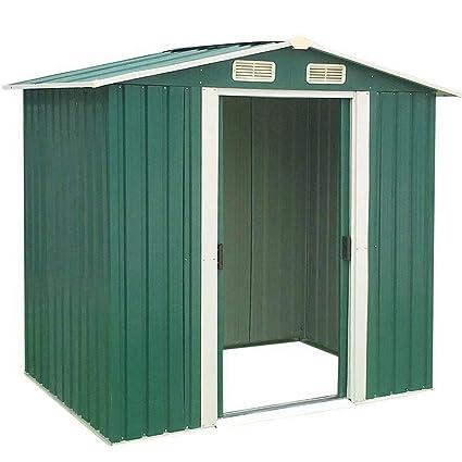 Amazon.com: Cobertizo de almacenamiento para jardín al aire ...