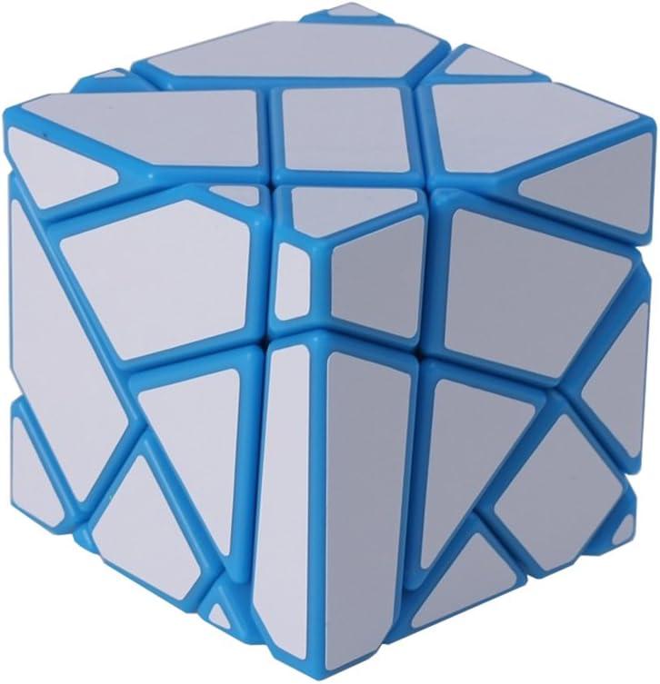 Wings of wind Amarillo-Oro DIY Nueva Etiqueta Velocidad Cubo m/ágico 3x3x3 Ghost Puzzle Cube