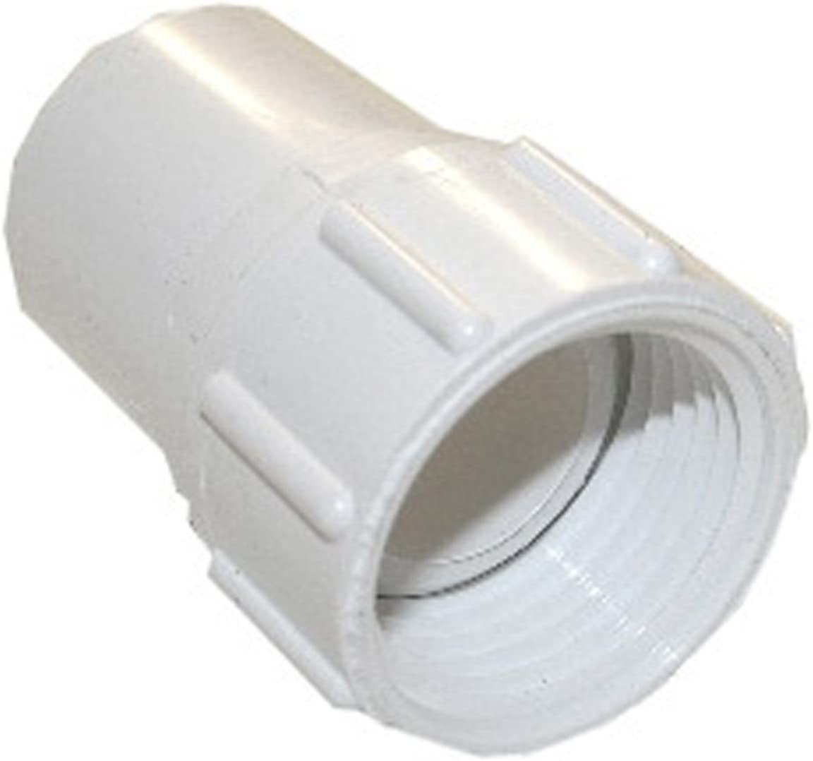 LASCO 15-1621 PVC Hose Adapter with 3/4-Inch Female Hose and 1/2-Inch PVC Pipe Glue Connection