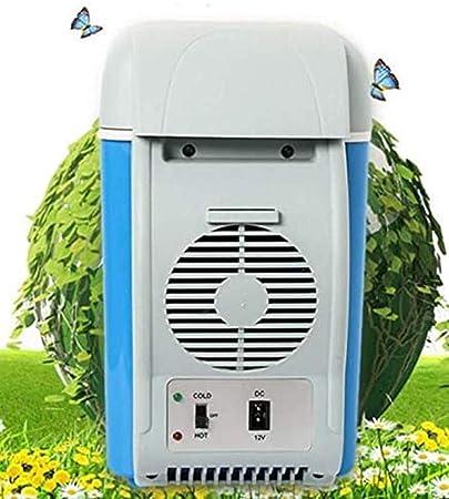 BININBOX Car Refrigerator 12V Travel Portable Electric Cooler Warmer for Car Truck SUV RV Trailer 6L//7.5L Capacity,for Fishing Cycling Black Capacity 6L