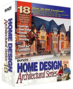 Punch Home Design Architectural Series 18 Old Version Software