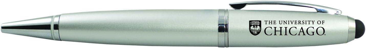 University of Chicago-Stylus USB Pen-Silver Inc LXG