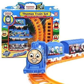 Amazon.com: Juguete eléctrico pequeño DIY Thomas pequeño ...