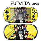 Decorative Video Game Skin Decal Cover Sticker for Sony PlayStation PS Vita Slim (PCH-2000) - Personal G4 P4G