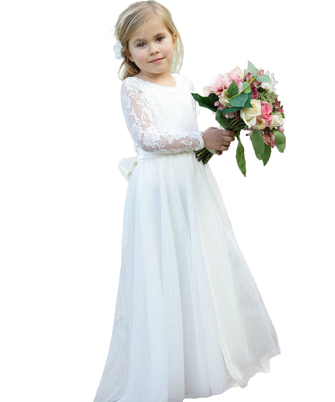 987c9031f Boho Chic Vintage Dresses for Girls - Bohemian Flower Girl .