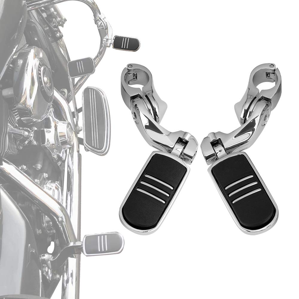 """Highway 1.25/"""" 1//4Engine Bars Foot Pegs For Harley Electra Glide Street Road King"""
