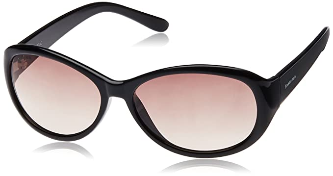 Fastrack Oval Unisex Sunglasses (P188BR1F Pink   Black)  Amazon.in ... c8a6b4dfbb
