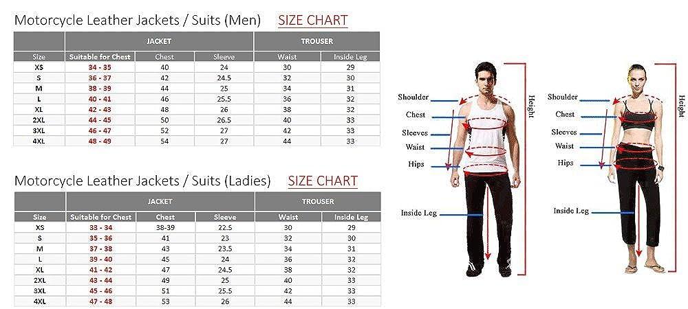 disponible en distintas tallas AZ impermeable reforzada Conjunto de 2 piezas de ropa para moto