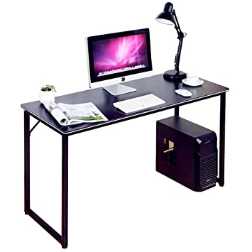 """Dland Home Office Desk 47"""" Modern Simple Computer PC Laptop Table  Writing Workstation, ..."""