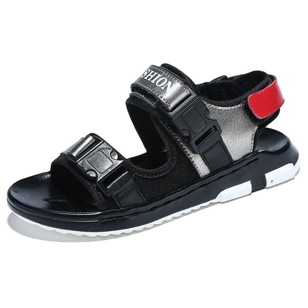 Boys Girls Sport Water Sandals Summer Athletic Open-Toe Adjustable Strap Kids Shoes