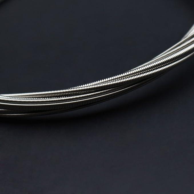 ammoon 4 Cuerdas Bajo Eléctrico Conjunto de Cuerdas Níquel Molido Núcleo de Acero (.040-.095) Tensión Media: Amazon.es: Instrumentos musicales