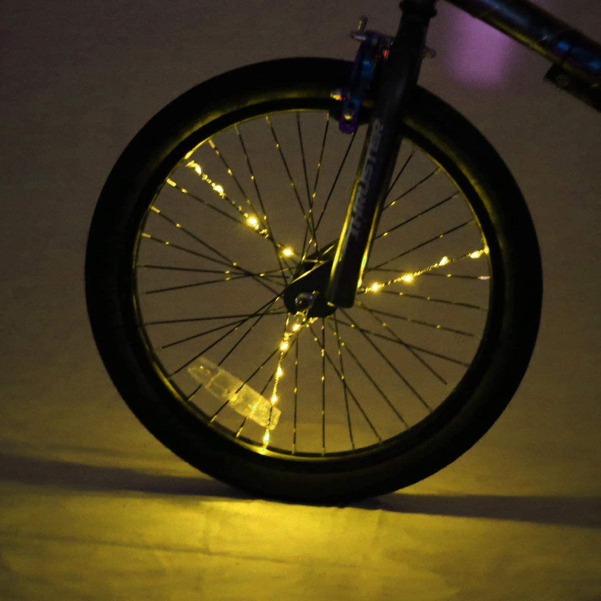 for 1 Wheel Gold Brightz SpokeBrightz LED Bicycle Spoke Accessory Light