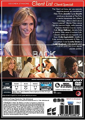 The Client List - Stagione 02 (4 Dvd) [Italia]: Amazon.es: Loretta Devine, Jennifer L. Hewitt: Cine y Series TV