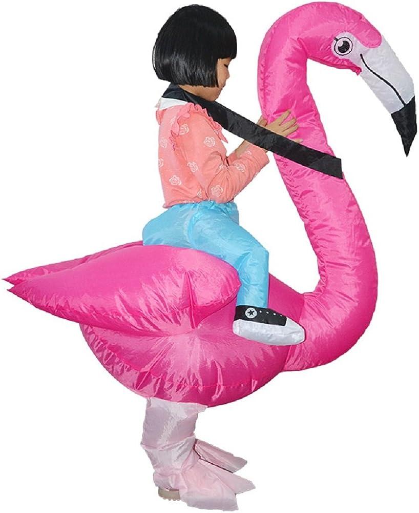 Amazon.com: Flamingo - Disfraz hinchable para Halloween ...