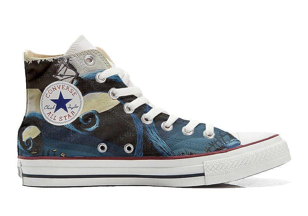 Converse All Star Chaussures Personnalisé Imprimés (Produit Artisanal) Abstract Art