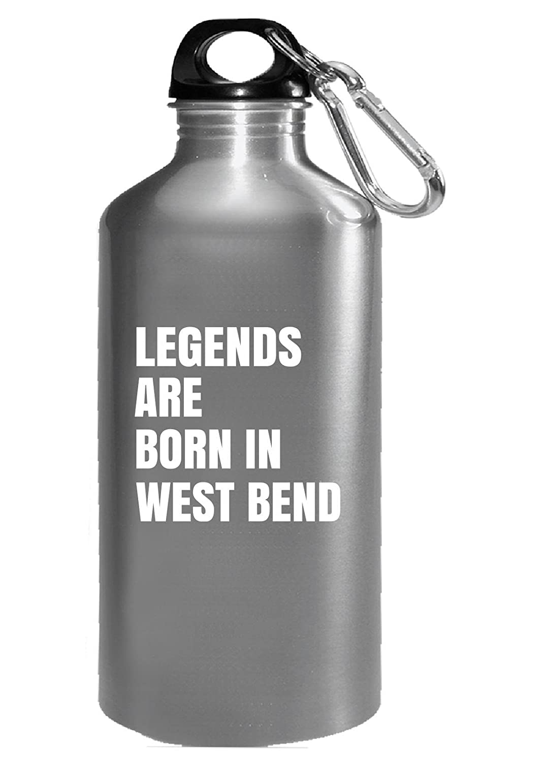 Legends Are Born In West Bend Cool Gift - Water Bottle