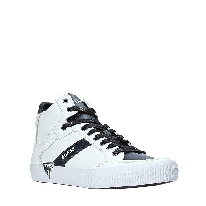 Guess FM8STA LEA12 Sneakers Uomo Bianco 41: Amazon.it