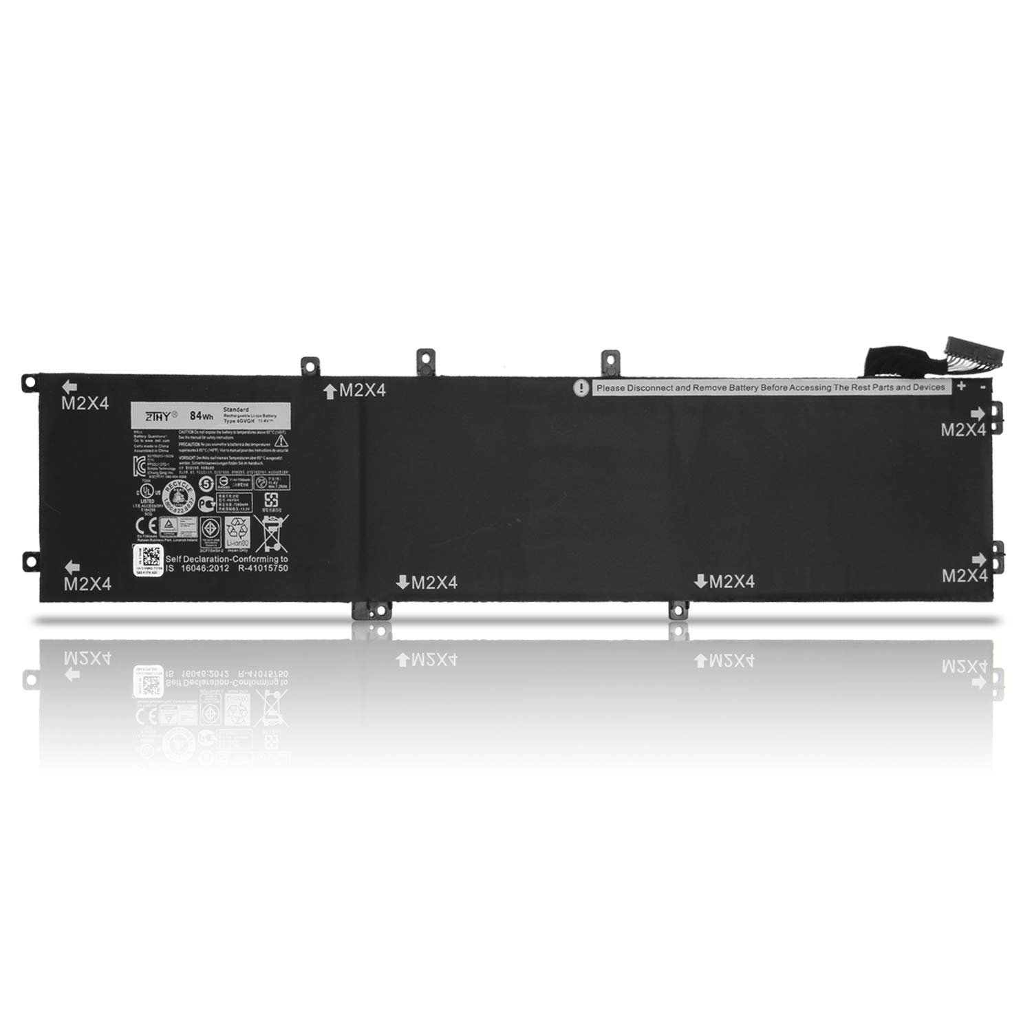 Bateria 4gvgh Para Dell Xps 15 9550 Precision 5510 Mobile Workstation Series P56f 1p6kd T453x 0t453 062mjv M7r96 84wh 6