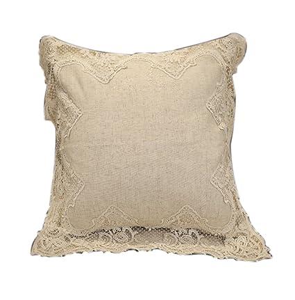 Amazon.com: SHARON-Throw - Almohadas decorativas cuadradas ...