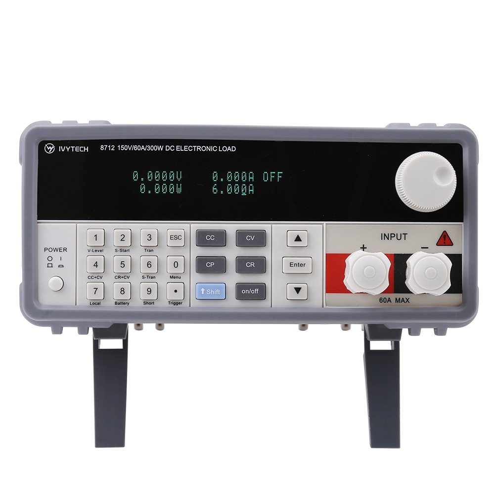Ivytech Iv8712 Programmable Dc Electronic Load Input Figure 5 Circuit Constant Resistancecr Operation Rating Vfd Screen 300w 150v 60a 110v Input110v Us Plug Home Improvement