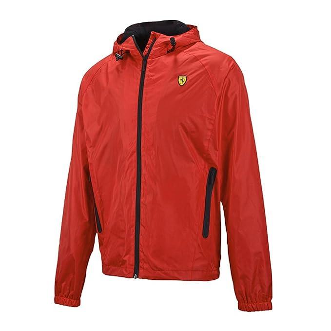Ferrari - Chaqueta Impermeable - Parka - para Hombre Rojo L ...